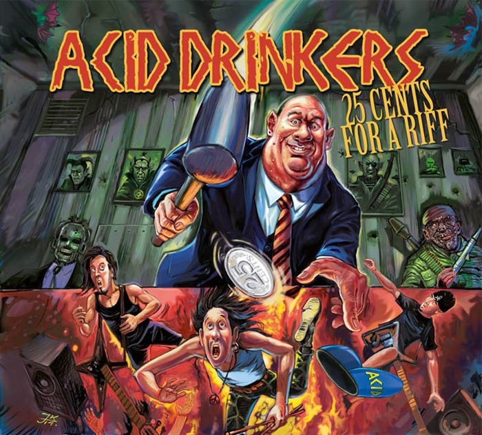 "Acid Drinkers ""25 Cents For A Riff"" fot. Mystic Production/NajlepszePiosenki"