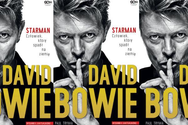"""""""David Bowie. STARMAN. Człowiek, który spadł na ziemię."""" fot. SQN/NajlepszePiosenki.pl"""