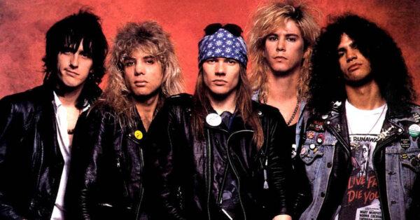 Guns N' Roses fot. Archiwum Zespołu/NajlepszePiosenki.pl