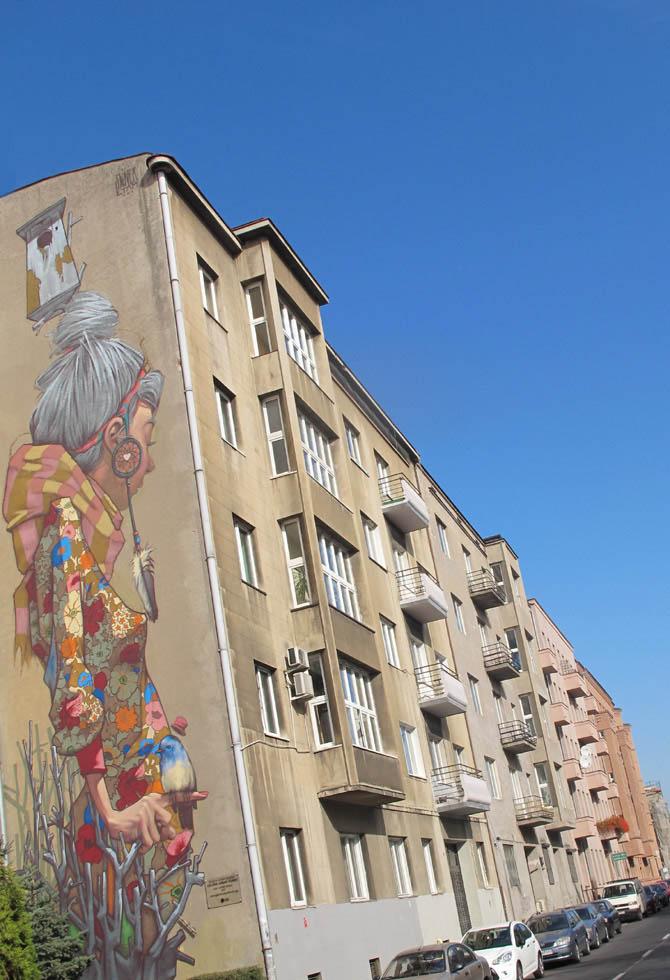 Sainer  (Polska)/Łódzkie Murale fot. NajlepszePiosenki.pl