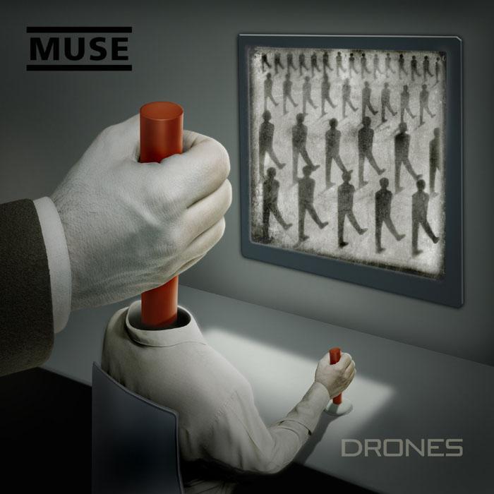 "Muse ""Drones"" fot. Warner Music Poland/NajlepszePiosenki.pl"
