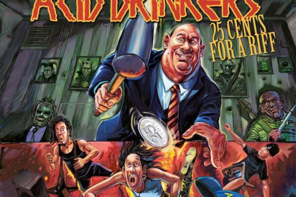"Acid Drinkers ""25 Cents For A Riff"" fot. Mystic Production/NajlepszePiosenki"