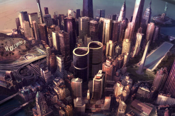 "Foo Fighters ""Sonic Highways"" fot. Sony Music/NajlepszePiosenki.pl"
