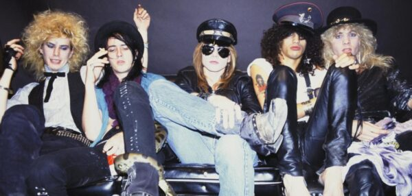 Guns N' Roses fot. Najlepszepiosenki.pl