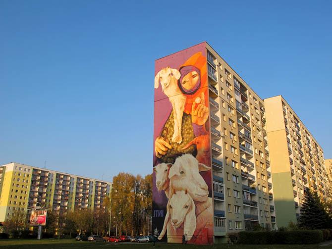 Inti (Chile)/Łódzkie Murale fot. NajlepszePiosenki.pl