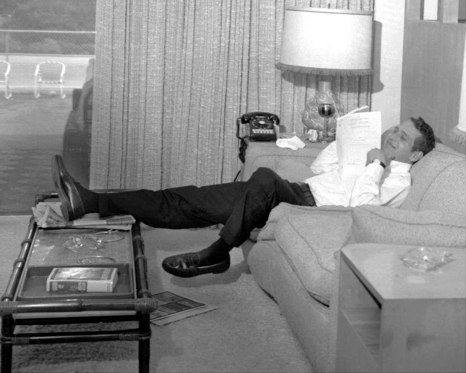Zrelaksowany Paul Newman