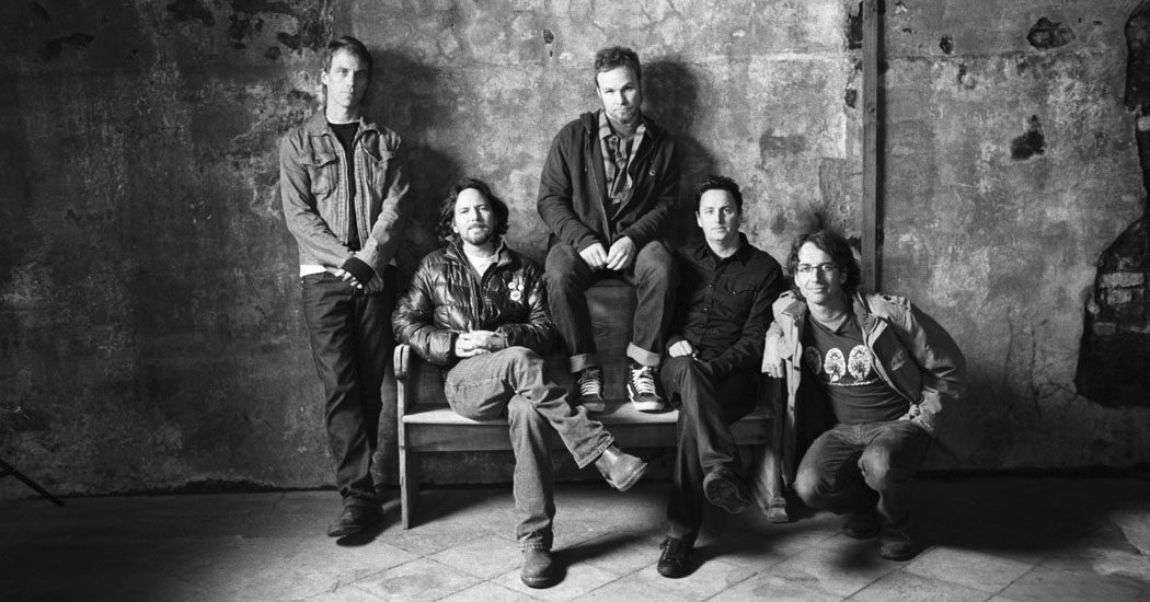 Pearl Jam fot. Universal Music Polska/NajlepszePiosenki.pl