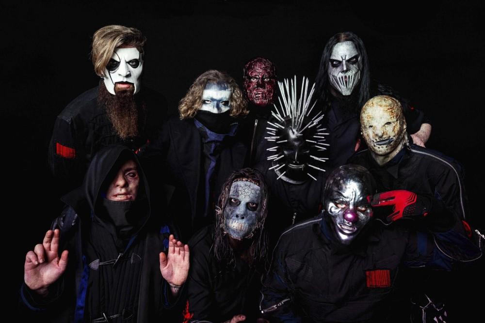 Slipknot nowe maski