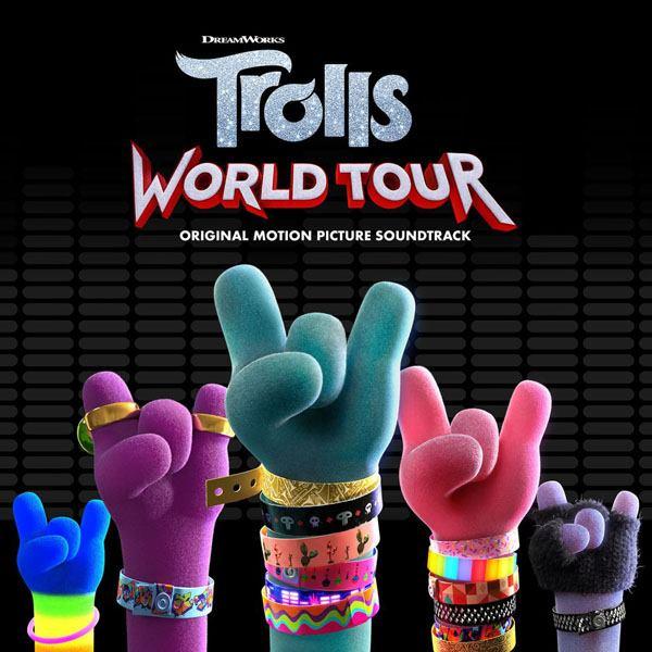 "okładka ""Trolls World Tour"""